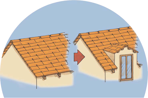rehausser un toit prix duune surlvation duimmeuble with rehausser un toit amazing le cadre. Black Bedroom Furniture Sets. Home Design Ideas